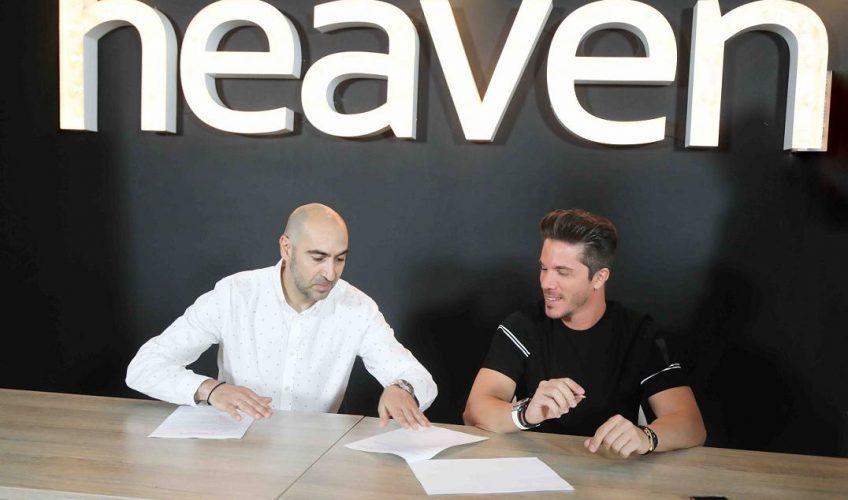 Ο ΝΙΚΟΣ ΟΙΚΟΝΟΜΟΠΟΥΛΟΣ είναι  το νέο μέλος της οικογένειας της Heaven Music!!!