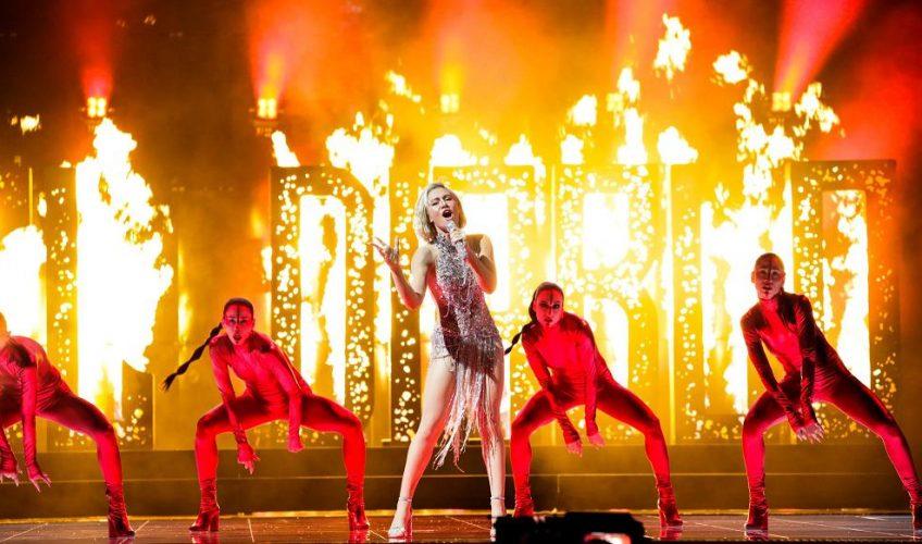 Έλενα Τσαγκρινού: Στον τελικό της Eurovision η Κύπρος με το «El Diablo»! Εντυπωσιακή εμφάνιση στον α' ημιτελικό